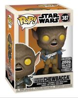 STAR WARS Galactic Convention Exclusive 2020 Funko Pop! Concept Series CHEWBACCA