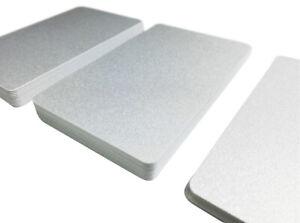 Plastikkarten SILBER | 1 - 500 Stück | Premium Qualität aus Deutschland