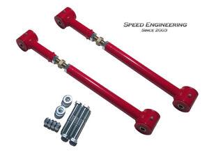 Camaro & Firebird Adjustable Lower Control Arms 1993-02 (Red)