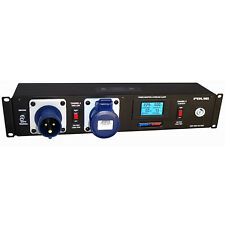 More details for penn elcom 16a rack mount pdu powercon sockets