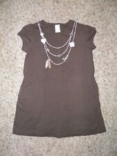 """Girls GYMBOREE """"Cowgirls at Heart""""  Embroidered Necklace Dress Size 5"""