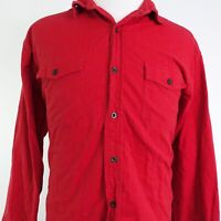REDHEAD LONG SLEEVE RED COTTON BUTTON DOWN SHIRT MENS SIZE XLT XL TALL