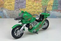 SHIPS SAME DAY 1998 Bandai Power Rangers Green Astro Bike Lost Galaxy Motorcycle