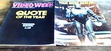 VIDEO WEEK UK 1988 ROBOCOP KILLER KLOWNS JOHN CARPENTER THE MONSTER SQUAD ELM ST