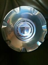 2004-2012 Cadillac STS CTS 9595437 Wheel Center HubCap  Polished  OEM Factory