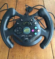 Tru Blu Accessories Racing Steering Wheel for PlayStation2  PS2