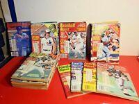 24 BASEBALL DIGEST MAGAZINES 1980'S BONUS 4 FOOTBALL DIGESTS 1980'S