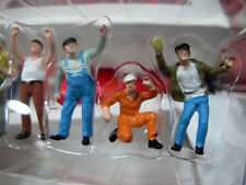 6pcs Figures 1 50 Scale Colorful Construction Workers MAN Labor Doll Model Toys