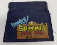 Pikes Peak Summit VINTAGE Coin Purse Change Souvenir