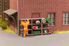 NOCH 14203 échelle H0,étagères industrielles LASER CUT minis Kit # en #