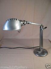 Dazor Swivel Metal Desk Lamp Model 1103B-ST Mid Century Modern Made in U.S.A.