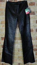 Wilsons Black Leather Pelle Studio Pants, Wilsons Size 8 dead stock uncut