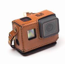 GoPro Hero 5 Black handmade brown leather case