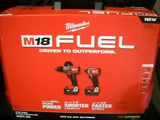 Milwaukee 2997-22 M18 Hammer Drill & Impact Driver Combo Kit w/2 5Ah Batteries