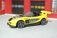 Hot Wheels Mazda MX-5 Miata Convertible - Yellow - Loose - 1:64
