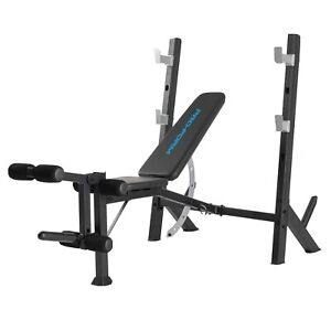 Pro Form Olympic Xt Gym Incline Decline Flat Leg Work Out Bench