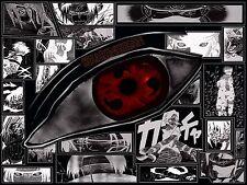 Poster A3 Naruto Shippuden Uchiha Sasuke Sharingan 02