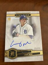 CASEY MIZE 2021 TOPPS FIVE STAR ROOKIE ON CARD AUTO DETROIT TIGERS RC PARALLEL