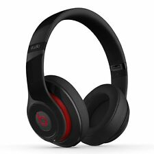 Beats by Dr. Dre Studio 2.0 Black Over Ear Headphones Wired - Red-Black