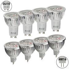 LAMPADINA FARETTO LED LAMPADA MR16 12v GU10 GU5.3 220v 6W=55WATT CALDA/FREDDA