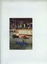 Clay Regazzoni Ferrari 312 B2 1972 Firmado Vintage POSTCARD CARTOLINA 3