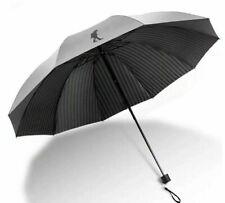 New Big Umbrella Folding Corporation Anti-UV Windproof Rain Portable Parasol Sun