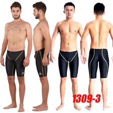 HXBY 1309-3 MEN'S COMPETITION TRAINING RACING JAMMER SWIMMING TRUNKS 3XL Sz34/36