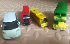 Alloy Bus Model Pull Back Vehicles Kids Toy Car 1:64 --9977