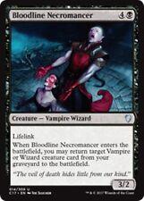 BLOODLINE NECROMANCER Commander 2017 MTG Black Creature — Vampire Wizard Unc
