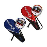 REGAIL 1Pcs Raquetas de Raqueta de Tenis de AleacióN de Hierro Equipadas co A3O4