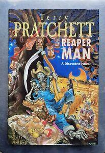 Terry Pratchett REAPER MAN (Discworld) Gollancz 1st/1st edition 1991 Hardback