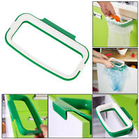 Portabale Plastic Hanging Kitchen Trash Rack Garbage Bag Holder Home Gadget Tool