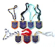 More details for collection of 7 henley royal regatta stewards' enclosure enamel badges 2007-2013