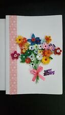 Handmade Paper Quilling Greeting Cards -Happy Birthday