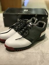 New-Footjoy Men's Contour Fit Golf Shoes White (UK size 9)