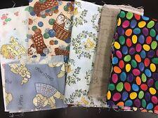 Cotton Scrap Bag #116- Children's Fabrics 9
