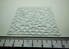 1:12 Scale Vinyl Tablecloths Doll House Miniatures Accessories ( White B)