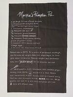 Pumpkin Pie Recipe Martha Stewart Collection Cotton Kitchen Towel