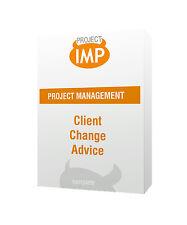 Client Change Advice Register - Project Management Excel template