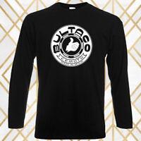 Bultaco Spain Motocycle Company Logo Men's Long Sleeve Black T-Shirt Size S-3XL