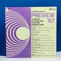 "Record vinyl 33 RPM album in cover sleeve vtg Lp 12"" Command popular 1967 live"