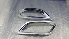 Pair Frames Chrome Fog Lamp Front B66881233 Mercedes Class B W245