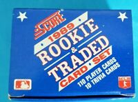 1989 SCORE BASEBALL ROOKIE AND TRADED UNOPENED 110 CARD SET- GRIFFEY JR RC ⚾️🔥