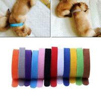 12x Whelping Puppy Reusable Band Nylon Kitten Adjustable ID Collar Pet Dog Cat