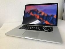 "Apple Macbook Pro 15.4"" Mid 2014 i7-4870HQ 16GB 512GB SSD A1398 2876 ISP Sierra"