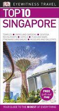 DK Eyewitness Top 10 Singapore *FREE SHIPPING - NEW*