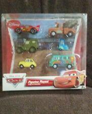 DISNEYS CARS FIGURINE PLAYSET LIGHTNING MCQUEEN MATER SARGE LUIGI GUIDO FILLMORE