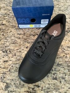 SAS Walk Easy Black 7.5 Wide Women's Shoes Brand New In Box Save Big