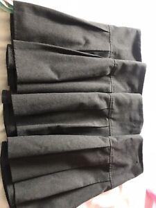 4 X M & S Girls School Skirts