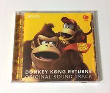 USED Nintendo Wii Donkey Kong Returns Original Soundtrack CD JAPAN Club Nintendo